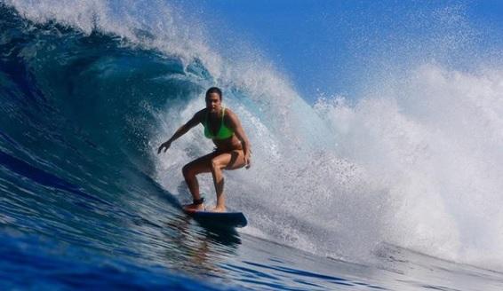 Bódi Sylvi szörf